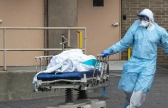 ABD'de kornavirüs kaynaklı can kaybı hızla artıyor sayı 8 bin 503'e yükseldi