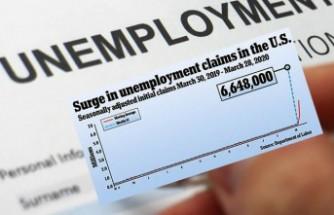 Amerika çöktü! Bir haftada 6.6 milyon kişi işsizlik başvurusunda bulundu