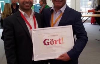 İsveç'te en çevreci ödülünü alan gurbetçi girişimcinin projesi dünya tarımını kurtaracak