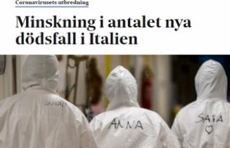 İtalya'da ölüm oranı düşmeye başladı