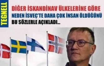 Tegnell, İsveç'te neden daha çok insanın öldüğünü açıkladı