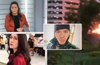 En az 17 ölü! Katliamın yapıldığı alışveriş merkezinde çalışan İsveç kız canlı yayında yaşananları anlattı