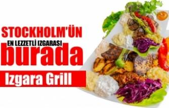 İsveç'te nefis Izgara Grill