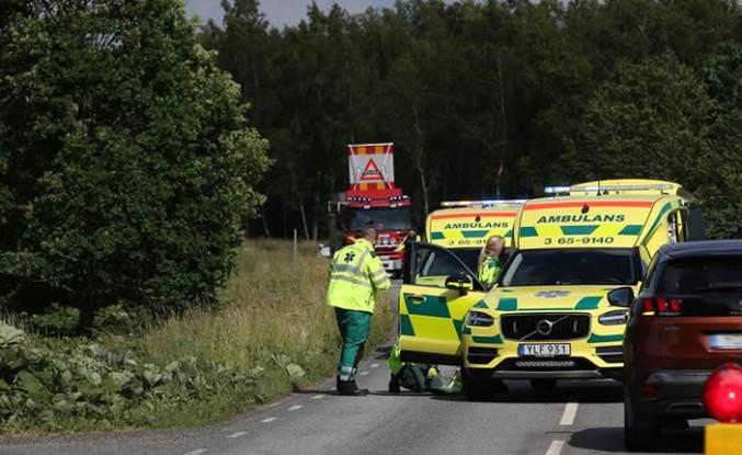 İsveç'te motosiklet kazası ölüm getirdi