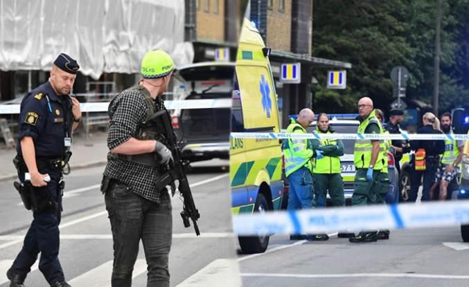 Malmö'de otomatik silahlı saldırı 5 kişi vuruldu