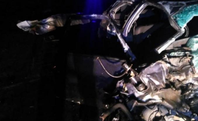 Konya'nın Kulu ilçesinde gece yarısı akılalmaz kaza: Hurdaya döndü