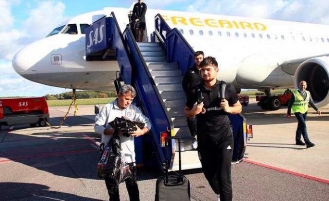 Beşiktaş, İsveç'e ulaştı!