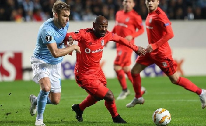 Beşiktaş, Malmö'ye kaybetti