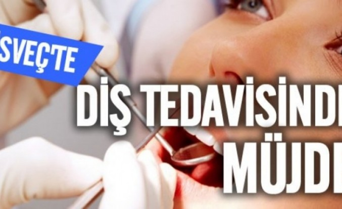 İsveç'te gençler için  ücretsiz diş tedavisi başlıyor
