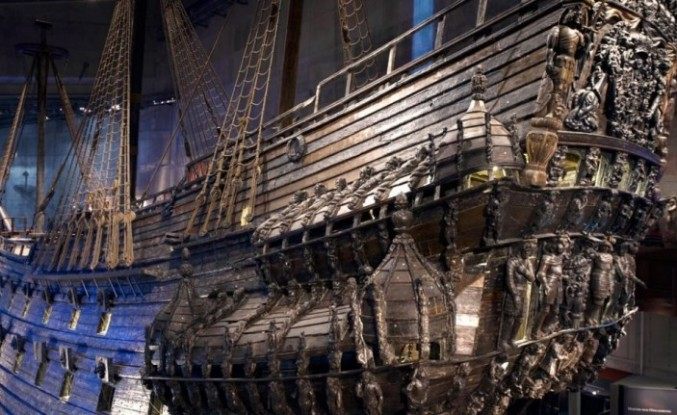 Stockholm'deki Vasa Müzesi, yalnızca bir eserden oluşuyor