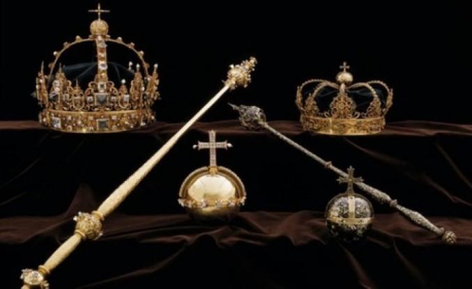İsveç kraliyet ailesinin 65 milyon kronluk tacı  çöplükte bulundu