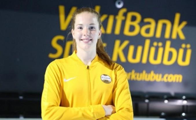 İsveç kraliçesi 'Isabelle Haak' VakıfBank'ta!