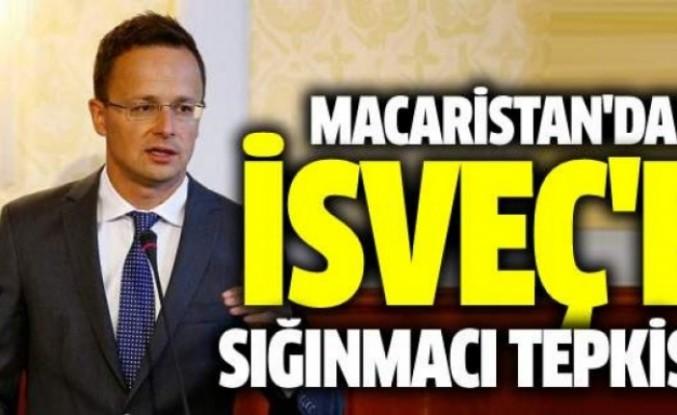 Macaristan'dan İsveç'e Tepki