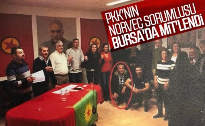 PKK'nın Norveç sorumlusu Bursa'da yakalandı
