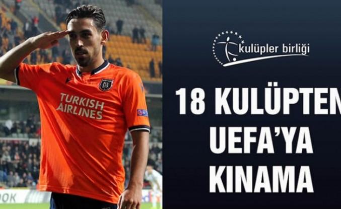 18 kulüp, UEFA'yı kınadı