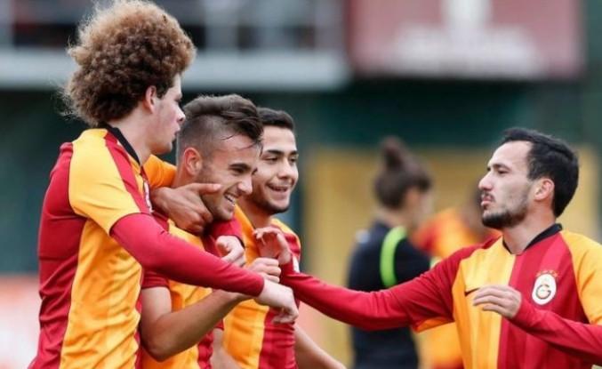 Galatasaray  - Real Madrid'e 4 gol attı