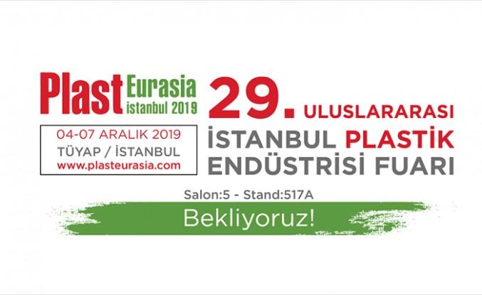 Türkiye'nin lider markası Avrasya'nın en büyük plastik fuarında