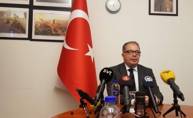 Türkiye'nin Stockholm Büyükelçici Yunt'tan kandil mesajı