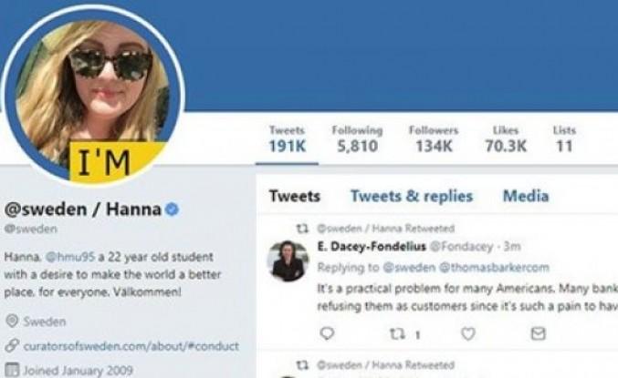 İsveç'in Twitter hesabını vatandaşları yönetiyor