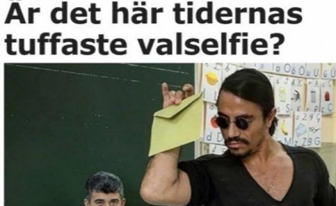 Nusret tarzı oy kullanma tarzı İsveç basının da dikkatini çekti