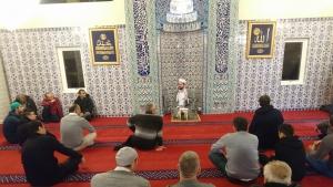 Fittja Ulu Camii'nde Mevlit Kandili Kutlandı