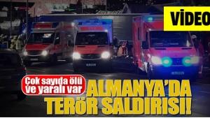 Berlin'deki terör saldırısı görüntüleri