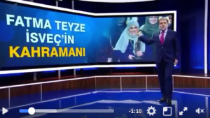 Ahmet Hakan: ''Fatma hanım İsveç'i feth etti''