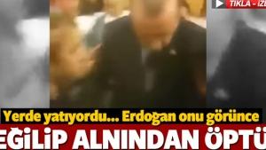 Erdoğan darbe gecesi yaralı vatandaşı alnından öptü
