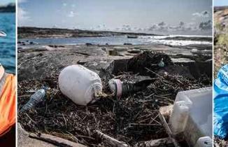İsveç'in turizm cenneti Bohuslän'de çöp felaketi