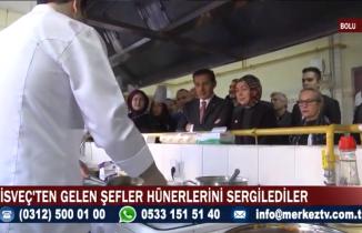 İsveç yemekleri Türkiye'de tanıtıldı