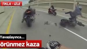 Hayatlarını hiçe sayan Motosiklet sürücüleri