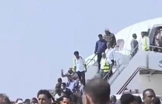 Havalimanındaki korkunç patlamalar kameraya böyle yansıdı