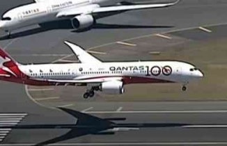 Dünyanın en uzun direk uçuşunu yapan uçak - 19 saat sonra böyle indi