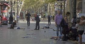 Barcelona'da terör saldırısında ölü sayısı  13 yükseldi