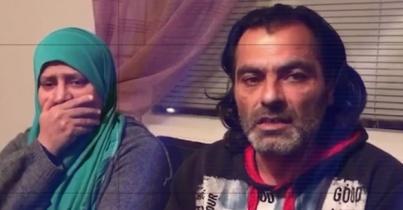 İsveç'te çocukları elinden alınan ailenin görüntüleri yürekleri sızlattı