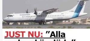 66 kişiyi taşıyan yolcu uçağı düştü