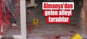 Almanya'dan gelen gurbetçi Türkiye'de tarandı: 5 yaralı