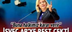 "Avrupa Komisyonu İsveç'i Avroya Zorlayamaz"""