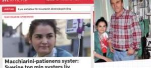 Çetir ailesinin hüzünlü mücadelesi İsveç televizyonunda