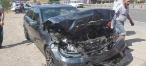 Gurbetçi Aile trafik kazası yaptı: 7 yaralı