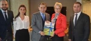 İsveç Başkonsolosu'ndan Kulüpler Birliği'ne ziyaret