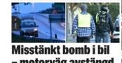 İsveç'te bomba yüklü araç...