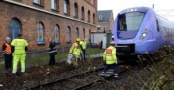 İsveç'te trenin altında kalan...