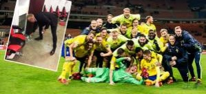 İtalya-İsveç maçının önüne geçen fotoğraf!