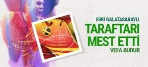 Johan Elmander Galatasaray taraftarını mest etti