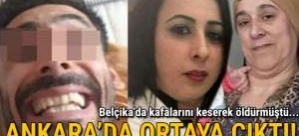 Kafalarını keserek öldürmüştü: Ankara'da yakalandı