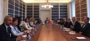 KEFEK Milletvekillerinin Finlandiya ve İsveç Parlamentolarına Çalışma Ziyareti