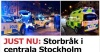 Stockholm#039;de iki grup arasında...