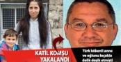 KATİL KOMŞU YAKALANDI